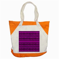 Magenta Barbwire Accent Tote Bag by Valentinaart