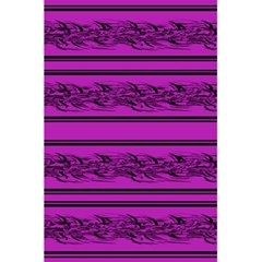 Magenta Barbwire 5 5  X 8 5  Notebooks