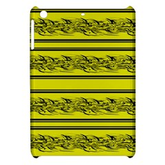 Yellow Barbwire Apple Ipad Mini Hardshell Case