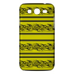 Yellow Barbwire Samsung Galaxy Mega 5 8 I9152 Hardshell Case  by Valentinaart