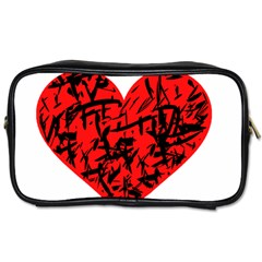 Valentine Hart Toiletries Bags by Valentinaart