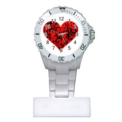 Valentine Hart Plastic Nurses Watch by Valentinaart