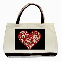 Valentine s Day Design Basic Tote Bag (two Sides) by Valentinaart