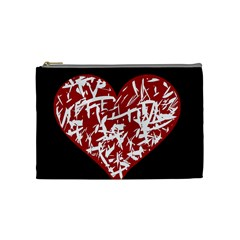 Valentine s Day Design Cosmetic Bag (medium)  by Valentinaart