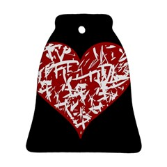 Valentine s Day Design Bell Ornament (2 Sides) by Valentinaart