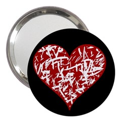 Valentine s Day Design 3  Handbag Mirrors by Valentinaart