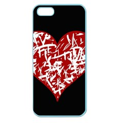Valentine s Day Design Apple Seamless Iphone 5 Case (color) by Valentinaart
