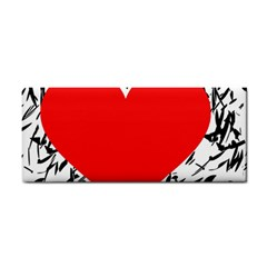 Red Valentine 2 Cosmetic Storage Cases by Valentinaart