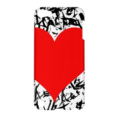 Red Valentine 2 Apple Ipod Touch 5 Hardshell Case by Valentinaart