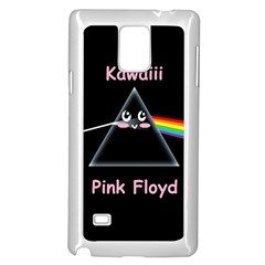 Cute Pink Floyd  Samsung Galaxy Note 4 Case (white) by Brittlevirginclothing