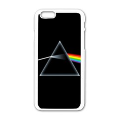 Pink Floyd  Apple Iphone 6/6s White Enamel Case by Brittlevirginclothing