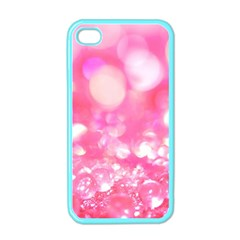 Cute Pink Transparent Diamond  Apple Iphone 4 Case (color) by Brittlevirginclothing
