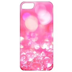 Cute Pink Transparent Diamond  Apple Iphone 5 Classic Hardshell Case by Brittlevirginclothing