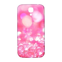 Cute Pink Transparent Diamond  Samsung Galaxy S4 I9500/i9505  Hardshell Back Case by Brittlevirginclothing