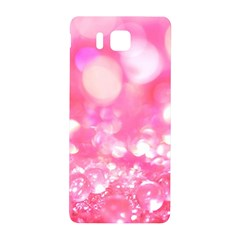 Cute Pink Transparent Diamond  Samsung Galaxy Alpha Hardshell Back Case by Brittlevirginclothing