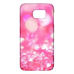 Cute Pink Transparent Diamond  Galaxy S6 by Brittlevirginclothing