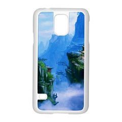 Fantasy Nature  Samsung Galaxy S5 Case (white) by Brittlevirginclothing