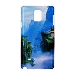 Fantasy Nature  Samsung Galaxy Note 4 Hardshell Case by Brittlevirginclothing