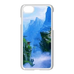Fantasy Nature  Apple Iphone 7 Seamless Case (white)
