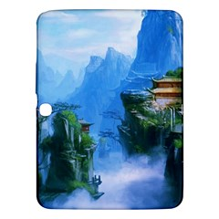 Fantasy Traditional Nature  Samsung Galaxy Tab 3 (10 1 ) P5200 Hardshell Case  by Brittlevirginclothing