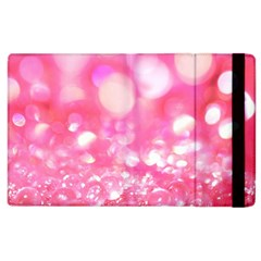 Cute Pink Glamour Diamonds Apple Ipad 2 Flip Case by Brittlevirginclothing