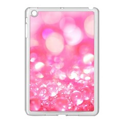 Cute Pink Glamour Diamonds Apple Ipad Mini Case (white) by Brittlevirginclothing