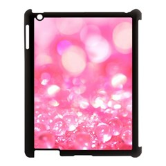 Cute Pink Glamour Diamonds Apple Ipad 3/4 Case (black) by Brittlevirginclothing