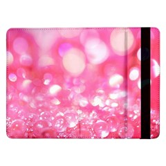 Cute Pink Glamour Diamonds Samsung Galaxy Tab Pro 12 2  Flip Case by Brittlevirginclothing