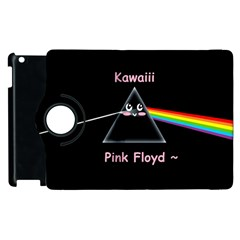Kawaii Pink Floyd  Apple Ipad 2 Flip 360 Case by Brittlevirginclothing