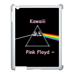 Kawaii Pink Floyd  Apple Ipad 3/4 Case (white) by Brittlevirginclothing
