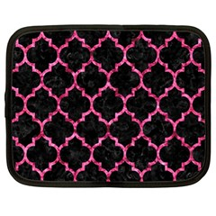 Tile1 Black Marble & Pink Marble Netbook Case (xl) by trendistuff