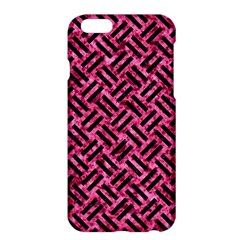 Woven2 Black Marble & Pink Marble (r) Apple Iphone 6 Plus/6s Plus Hardshell Case by trendistuff