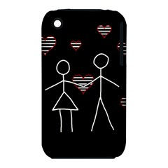 Couple In Love Iphone 3s/3gs by Valentinaart