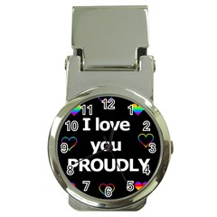 Proudly Love Money Clip Watches by Valentinaart