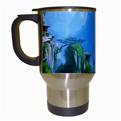 Fantasy Nature Travel Mugs (white) by Brittlevirginclothing