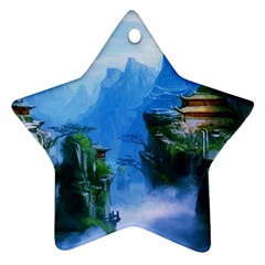 Fantasy Nature Star Ornament (two Sides)  by Brittlevirginclothing