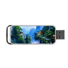 Fantasy Nature Portable Usb Flash (one Side) by Brittlevirginclothing