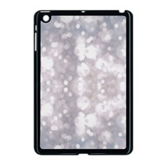 Light Circles, Rouge Aquarel Painting Apple Ipad Mini Case (black)