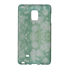 Light Circles, Mint Green Color Galaxy Note Edge by picsaspassion