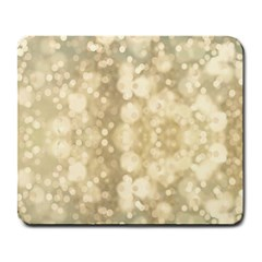 Light Circles, Brown Yellow Color Large Mousepads