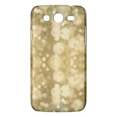 Light Circles, Brown Yellow Color Samsung Galaxy Mega 5 8 I9152 Hardshell Case  by picsaspassion