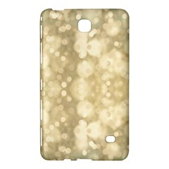 Light Circles, Brown Yellow Color Samsung Galaxy Tab 4 (8 ) Hardshell Case  by picsaspassion