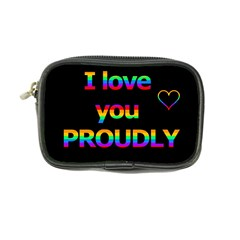 I Love You Proudly Coin Purse by Valentinaart