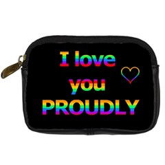 I Love You Proudly Digital Camera Cases by Valentinaart