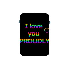 I Love You Proudly Apple Ipad Mini Protective Soft Cases by Valentinaart