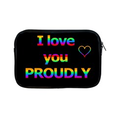 I Love You Proudly Apple Ipad Mini Zipper Cases by Valentinaart