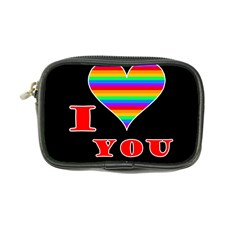 I Love You Coin Purse by Valentinaart
