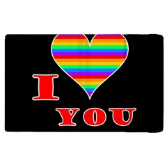 I Love You Apple Ipad 3/4 Flip Case