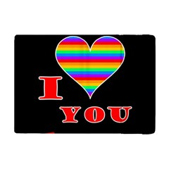 I Love You Ipad Mini 2 Flip Cases by Valentinaart