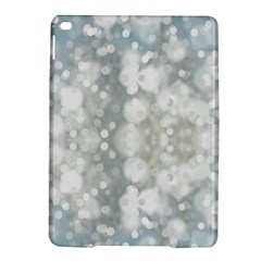 Light Circles, Blue Gray White Colors Ipad Air 2 Hardshell Cases